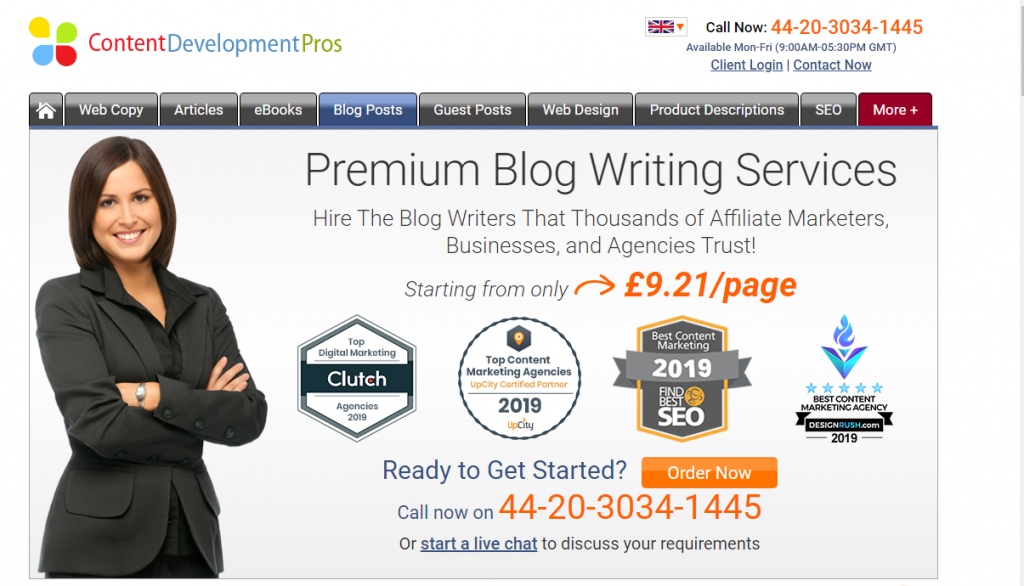 Blog writing agencies specialize in strategizing and writing blogs for businesses.